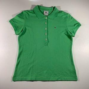 Lacoste Lime Green Polo Sz 44
